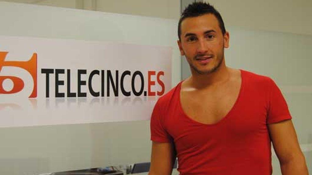 Rubén visita telecinco.es