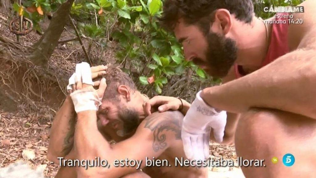 """Nacho Vidal llora: """"Me siento muy derrumbado y muy solo"""""""