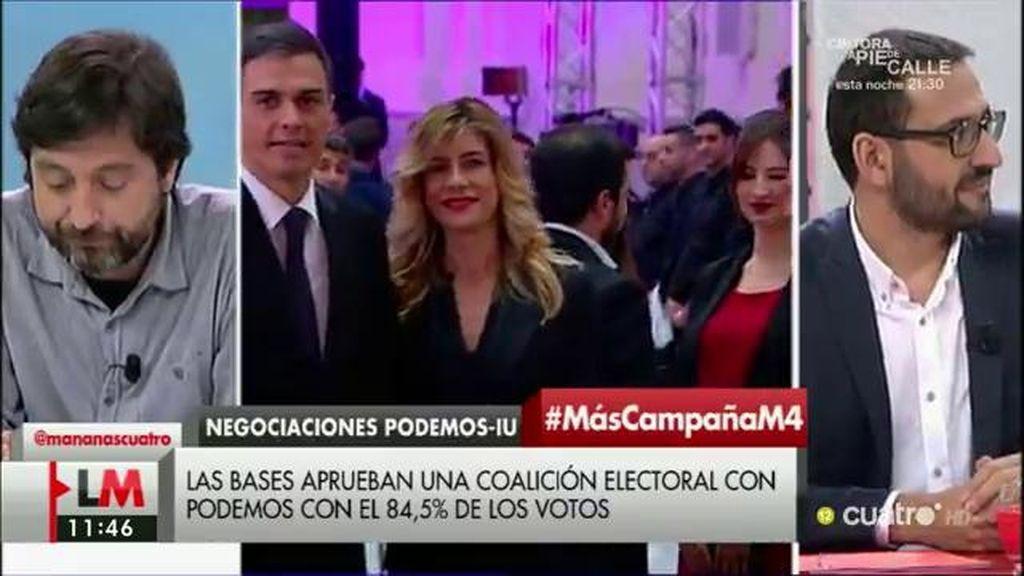 """Sergio Gutiérrez (PSOE), sobre el acuerdo IU-Podemos: """"Me llama la atención que Pablo Iglesias por fin vuelva a casa"""""""
