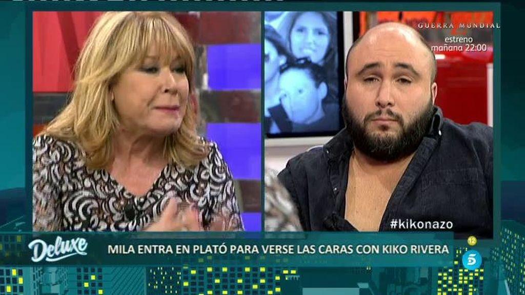 "Mila Ximénez, a Kiko RIvera: ""Yo no he blanqueado dinero como ha hecho tu madre"""