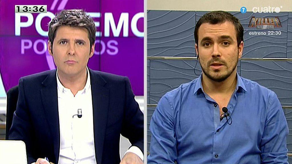 """A.Garzón: """"Por IU esta oportunidad histórica de transformar el país no se va a frustrar"""""""