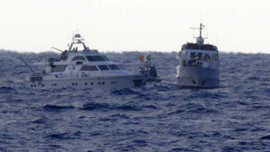 Israel aborda dos navíos de Freedom Waves