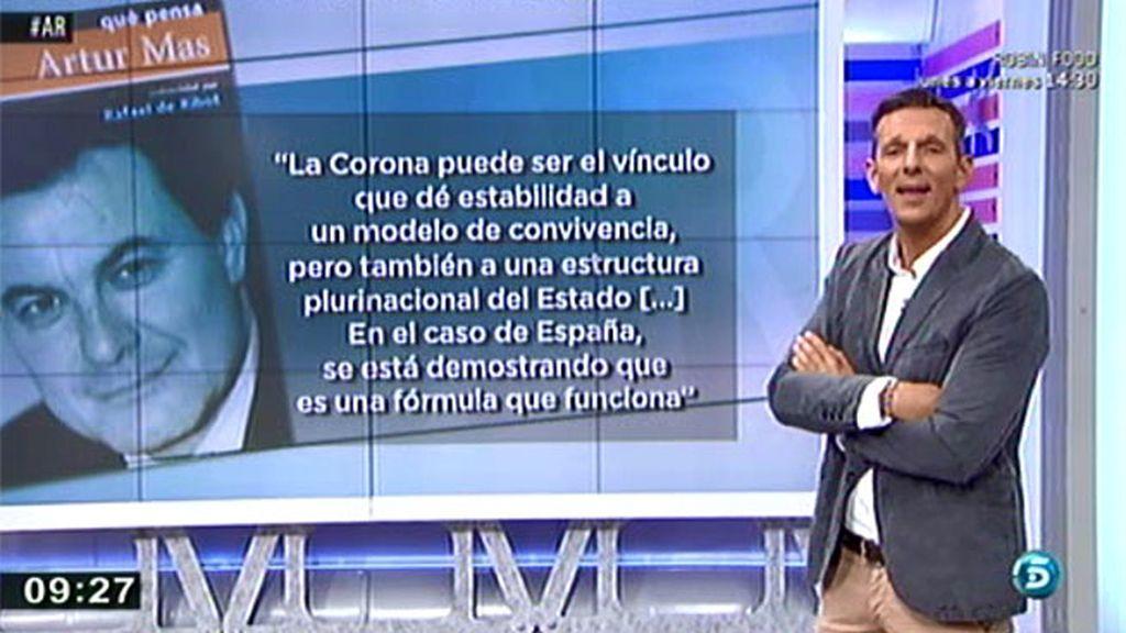 """Artur Mas, en 2002: """"Yo apuesto por la España plurinacional"""""""
