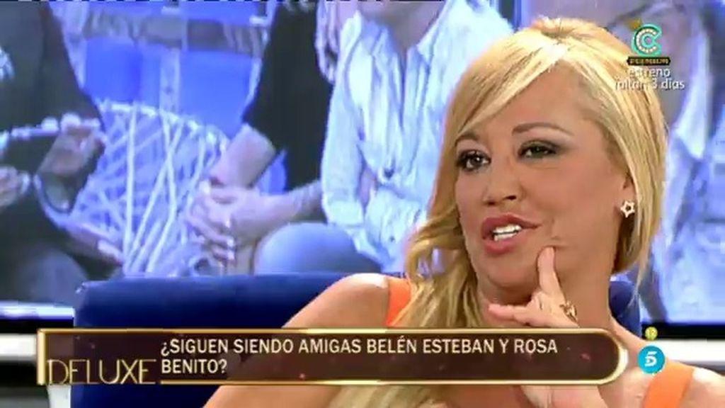 """Belén: """"Me creo que Rosa Benito le haya dicho a Sandra que la he traicionado"""""""