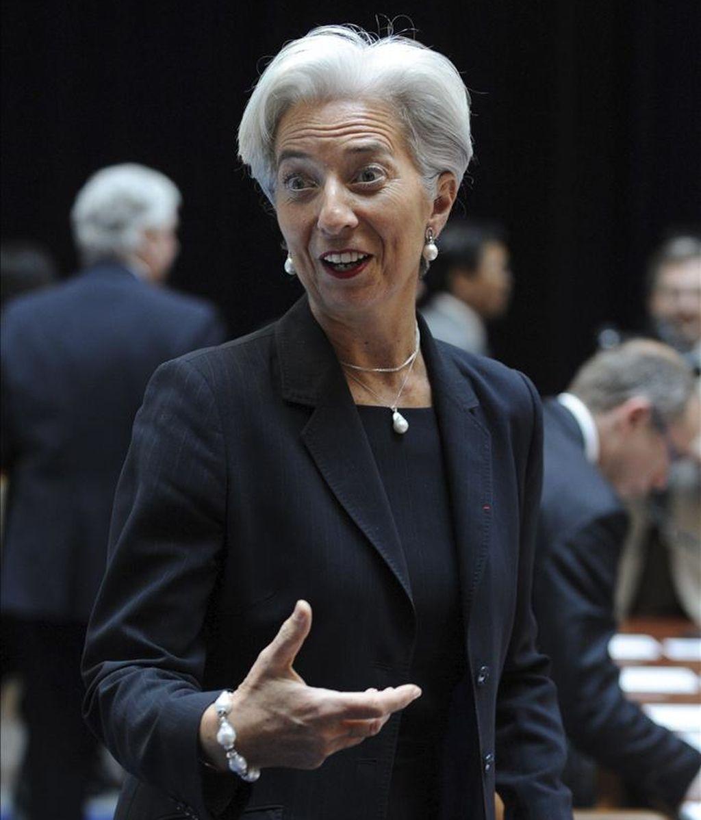 La ministra francesa de Finanzas, Christine Lagarde. EFE/Archivo