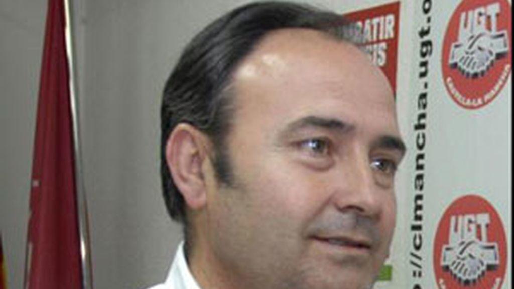 Secretario general de UGT en Castilla La Mancha Carlos Pedrosa FOTO: EFE/archivo