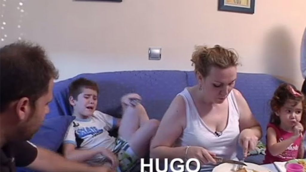 Hugo no quiere comer