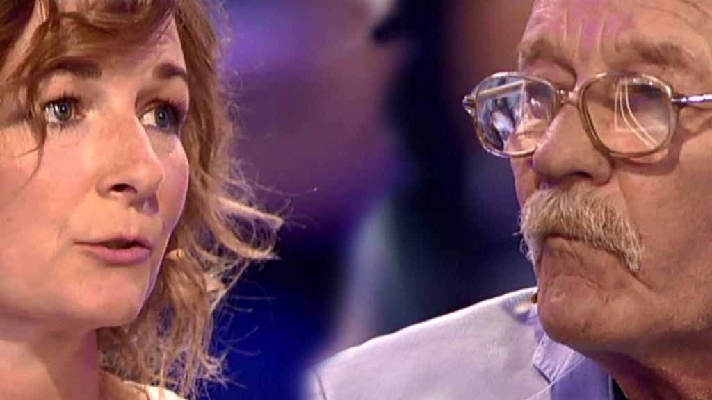 Betina conoce a su padre después de 45 años