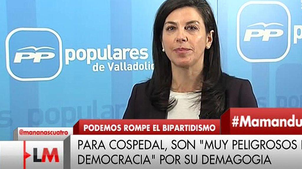 """A. Serrano: """"Cuando hay mala praxis de la política se tiene que curar con más y mejor política, nunca con la no política"""""""
