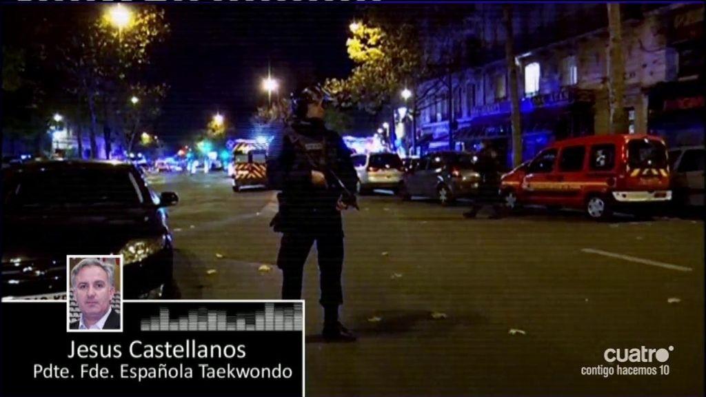 Así vivió el atentado el Presidente de la Federación Española de Taekwondo