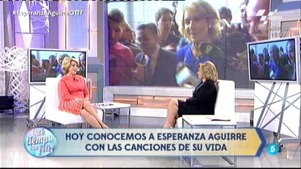 """Esperanza Aguirre: """"Me fui por el cáncer y porque me tocaron un poquito las narices"""""""