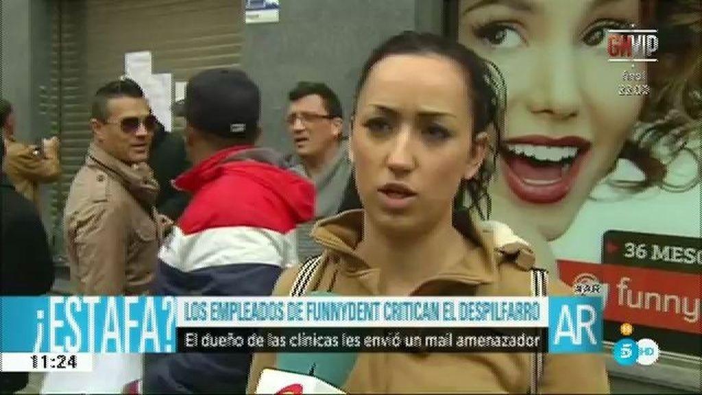 Los empleados de Funnydent acusan a López Vivar de amenazarles