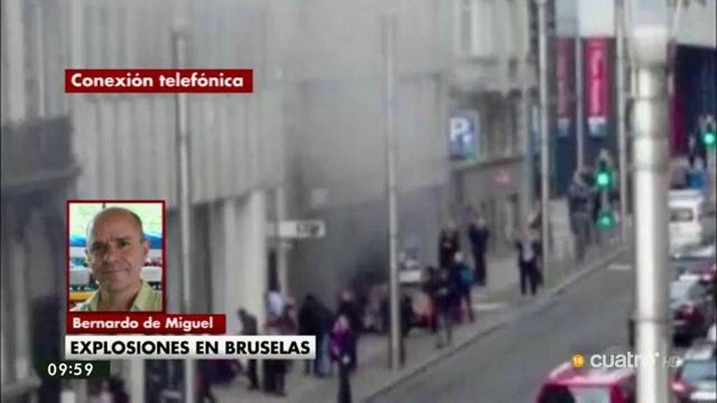 """Bernardo de Miguel: """"No sabemos si la cadena de atentados ha terminado"""""""