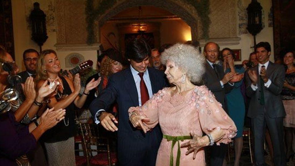 Lo que nadie ha visto de la boda de Duquesa de Alba y Alfonso Díez