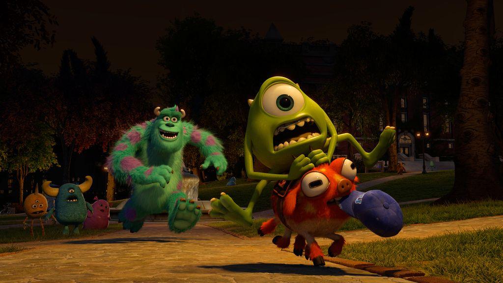 Las primeras imágenes de 'Monstruos University'