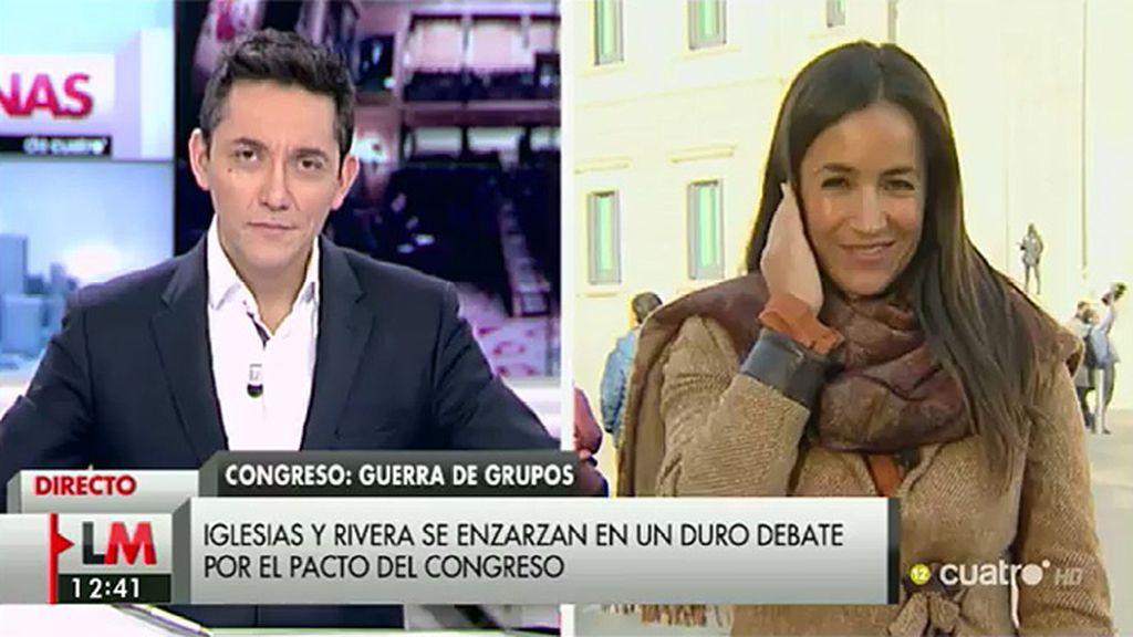 """B. Villacís: """"No estoy obligada a estar de acuerdo con quien quiere romper España"""""""