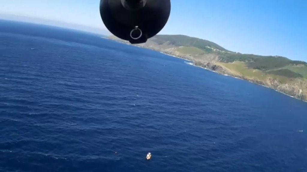 Los drones de 'Volando voy' localizan y envían las coordenadas al equipo de rescate