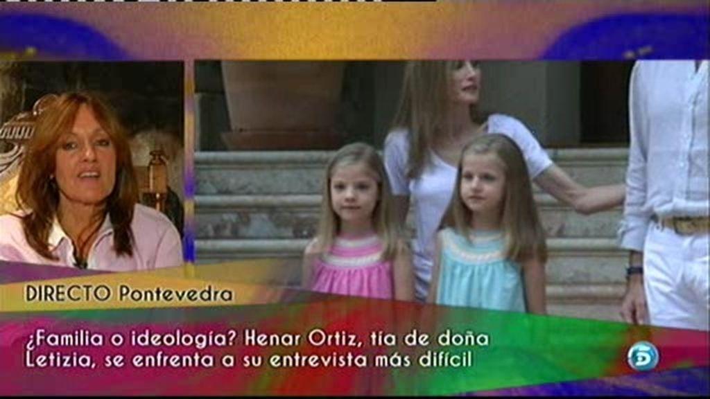 """Henar Ortiz: """"Hace mucho que no veo a mi sobrina"""""""