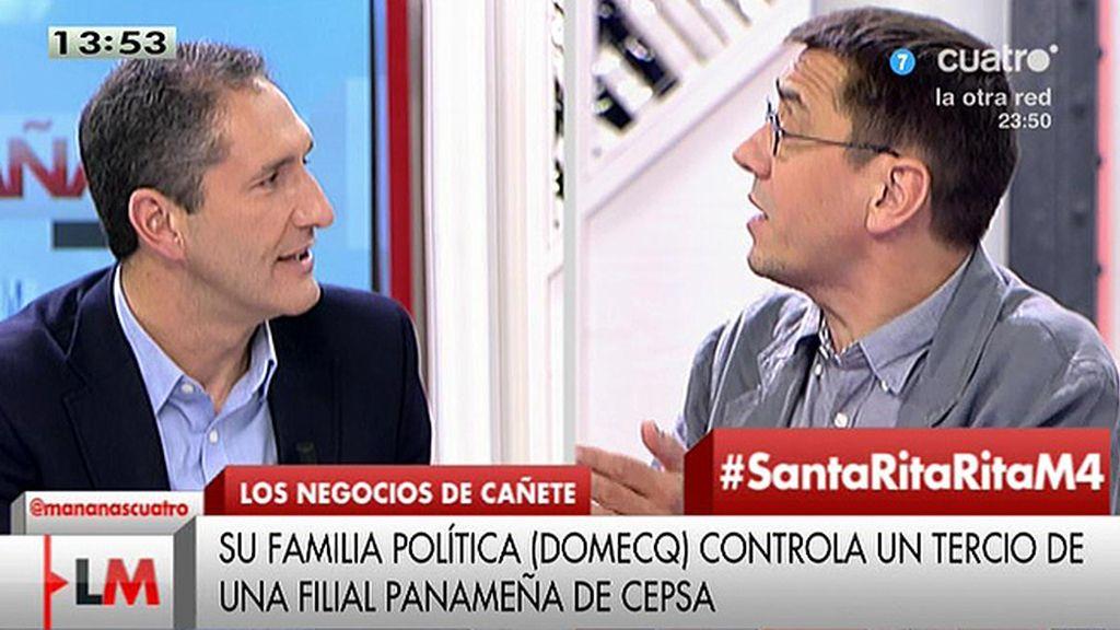 """Cepeda (PSOE): """"Me la atención la obsesión que tiene Pablo Iglesias con el PSOE"""""""