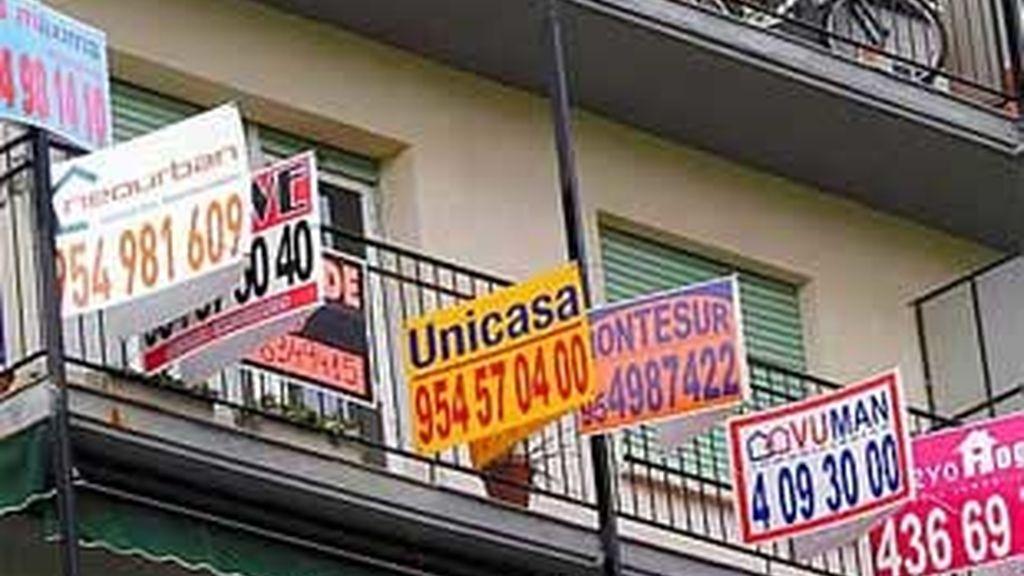 En la primera mitad del año la compraventa de viviendas cayó un 8,1%. FOTO: Archivo