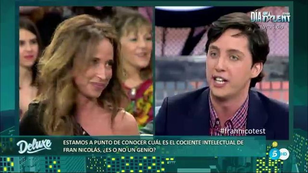 """Francisco Nicolás, a María Patiño: """"Si dices algo de mí, demuestralo o eres una mentirosa"""""""