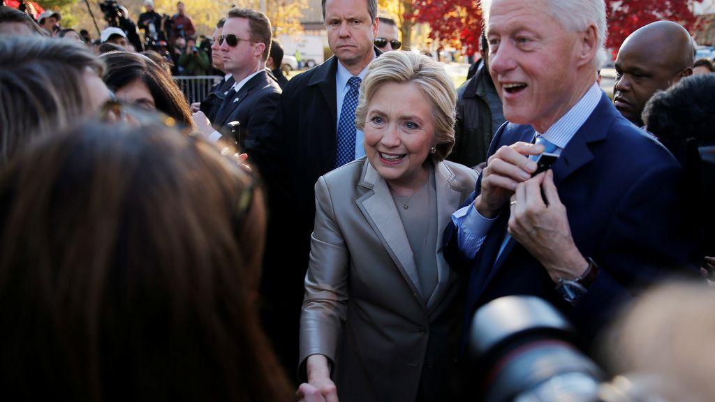 """Hillary Clinton: """"Lo haré lo mejor que pueda si tengo la fortuna de ganar hoy"""""""