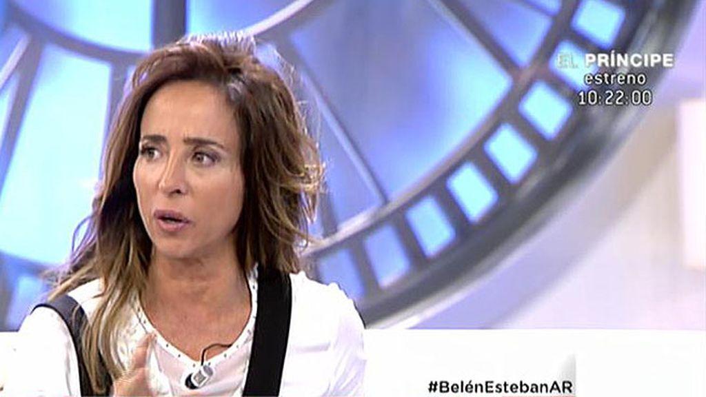 """María Patiño, del libro de memorias de Belén Esteban: """"No es una estafa"""""""