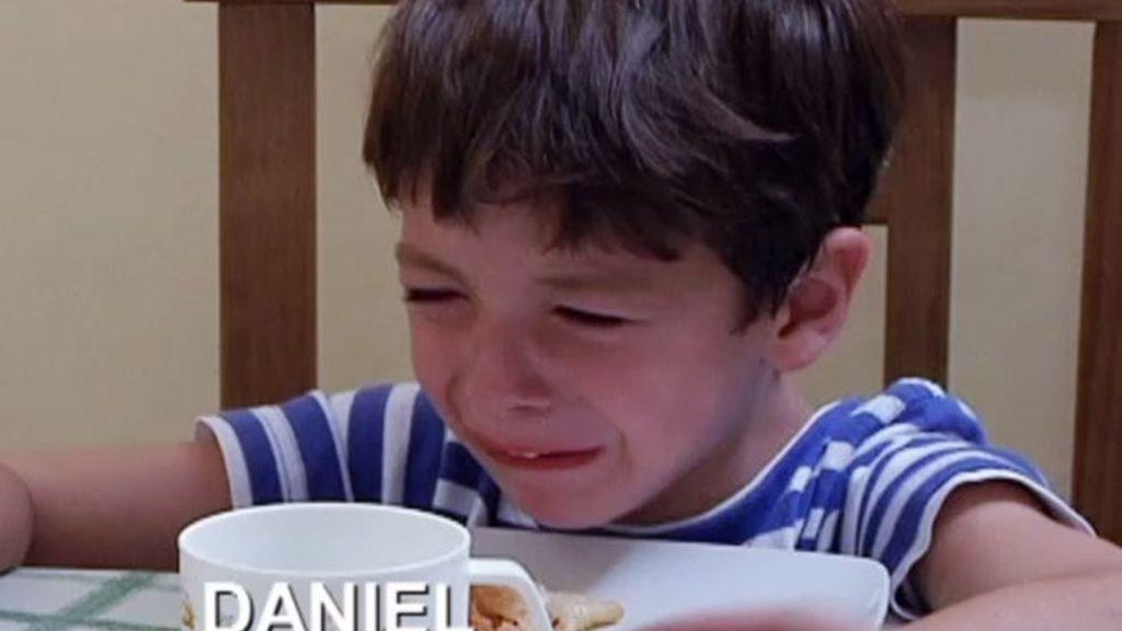Daniel, el rey del berrinche