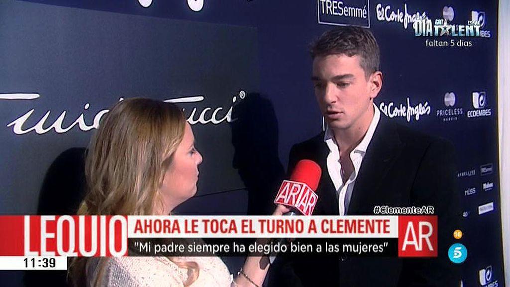 """Clemente Lequio: """"No sé si iré al bautizo"""""""
