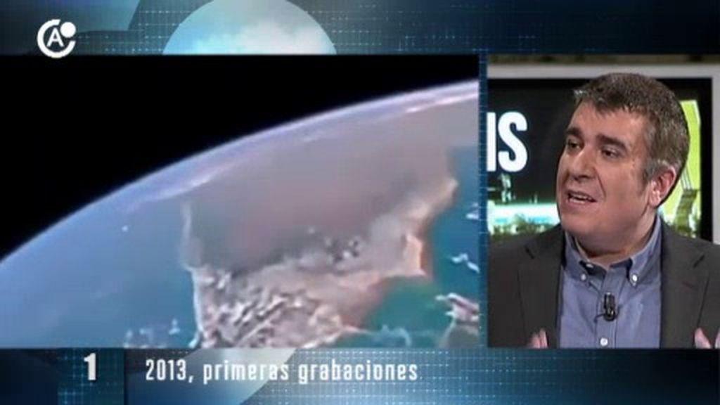 Ovnis captados por la estación espacial internacional: El ranking
