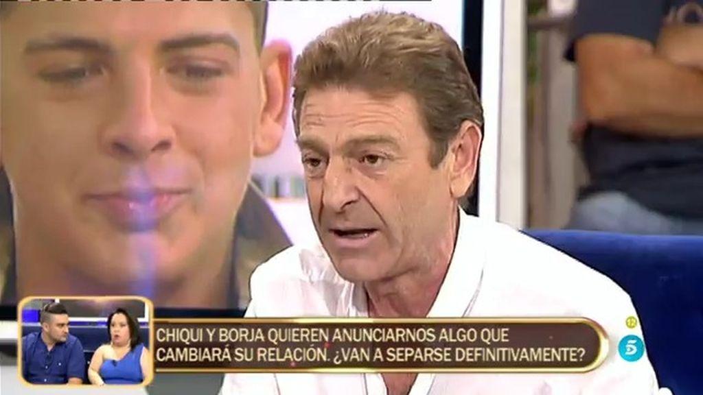"""Tío de Rocío, sobre Rafa Mateo: """"No me creo que estuviese por la noche en el cementerio"""""""