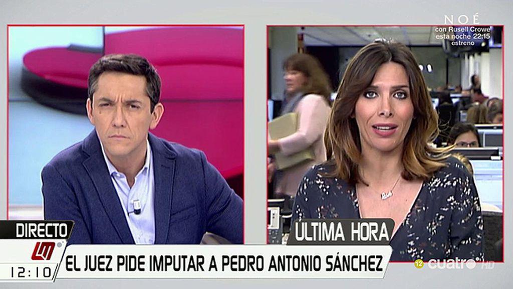 El presidente de Murcia (PP), imputado por un posible delito de prevaricación