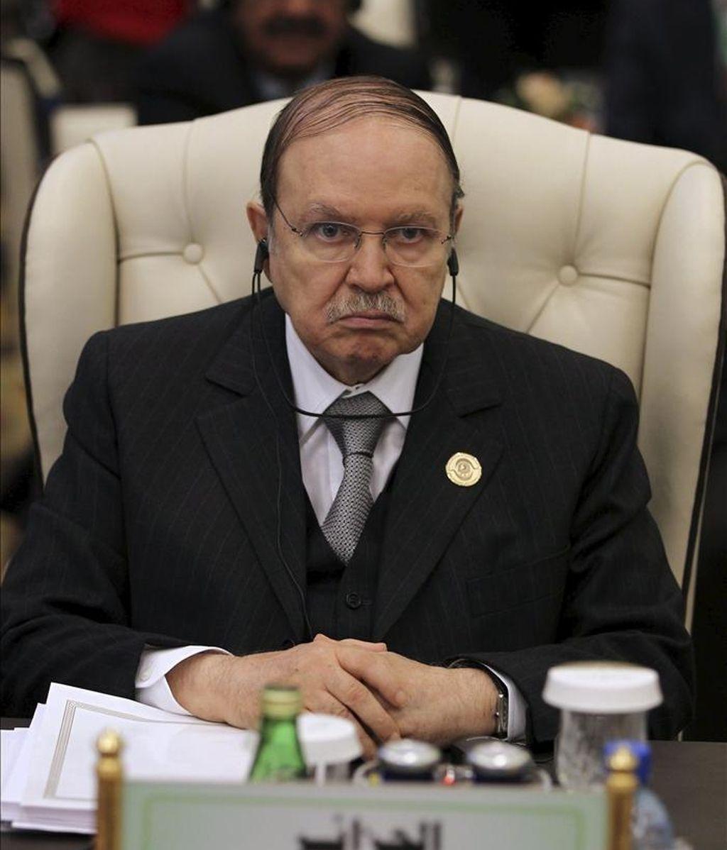 El presidente argelino, Abdelaziz Buteflika. EFE/Archivo