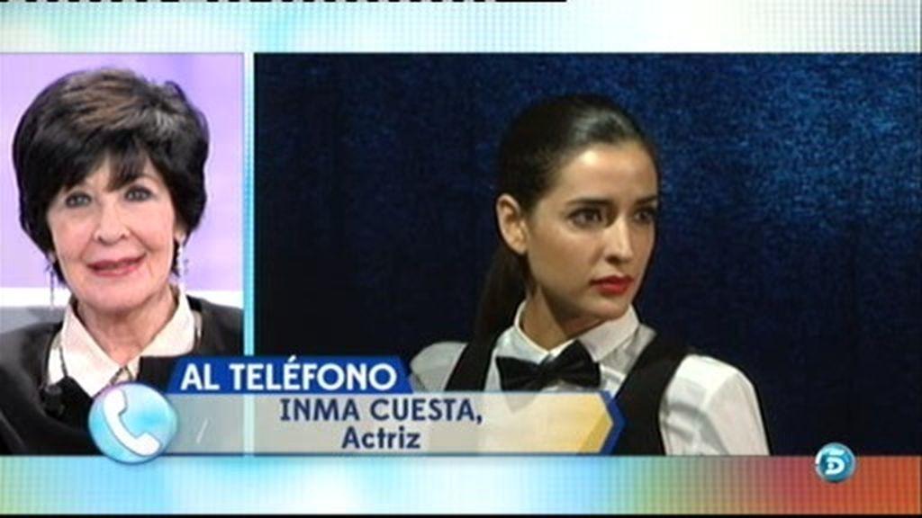 """Inma Cuesta sorprende a Concha Velasco: """"Gracias por lo que nos has regalado"""""""