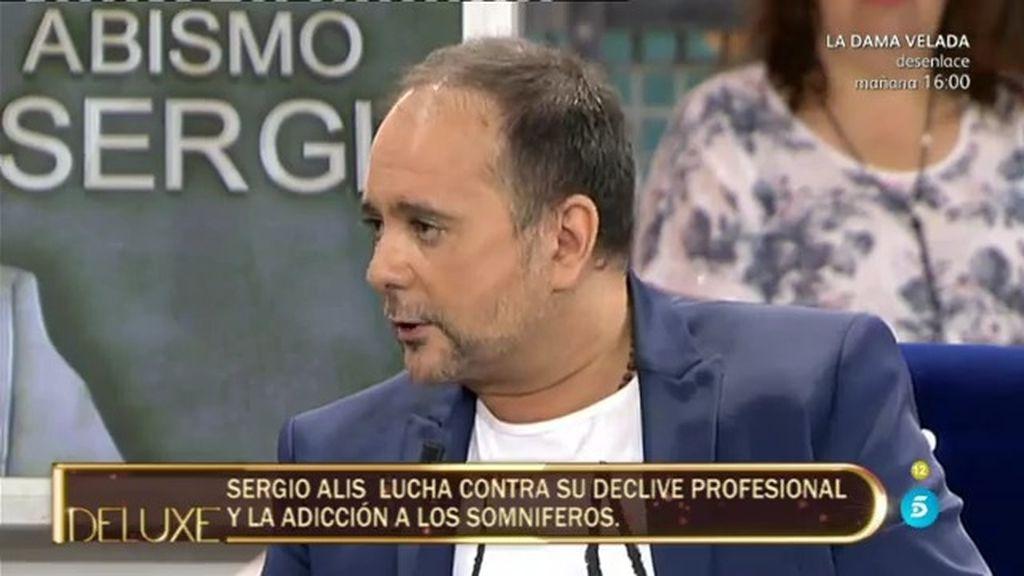 """Sergio Alis: """"La doctora me dijo o entras en el hospital o en una semana no lo cuentas"""""""