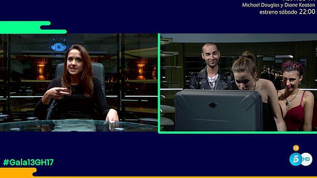 Meri ocupa el puesto de Adara en 'El Club'