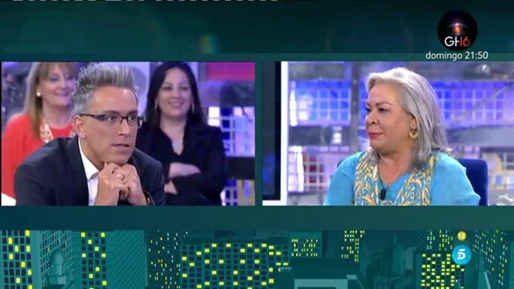 """Carmen Gahona saca su lado más 'hot': """"Yo soy más activa sexualmente que Chiquetete"""""""