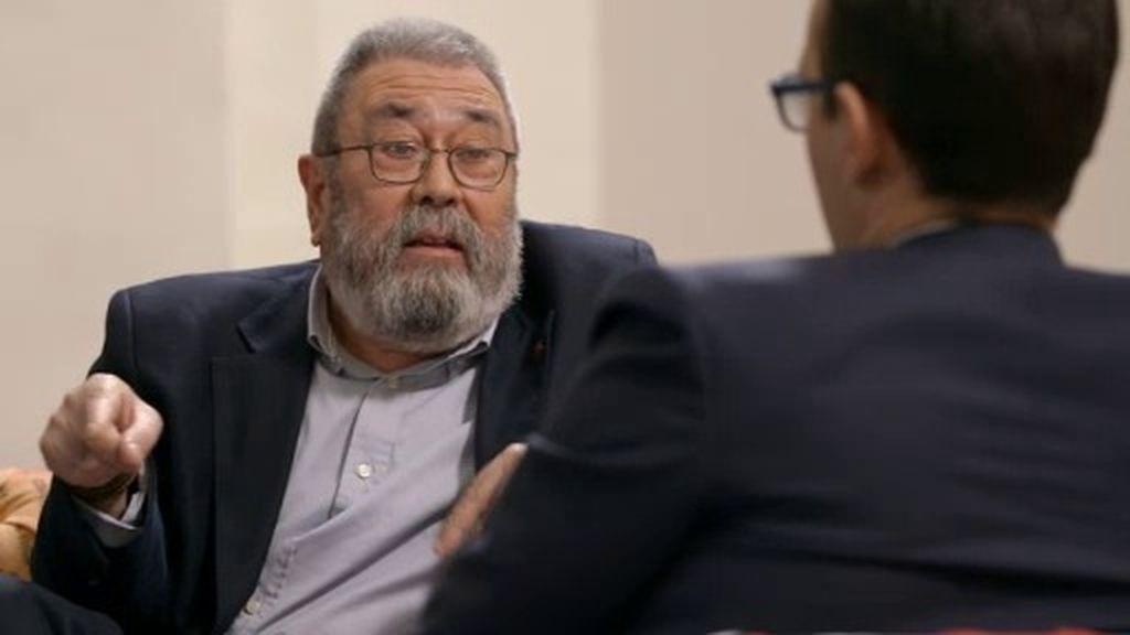 """Cándido Méndez, sobre J.R. Martínez y las 'tarjetas Black': """"No somos responsables"""""""