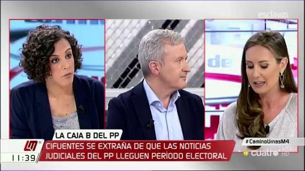 """Emilio del Río: """"El juez que dictamina el embargo cautelar por si no paga Bárcenas fue cargo con el gobierno de Zapatero"""""""