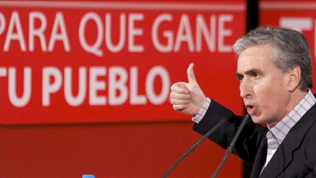El ministro de Presidencia, Ramón Jáuregui. EFE/Archivo