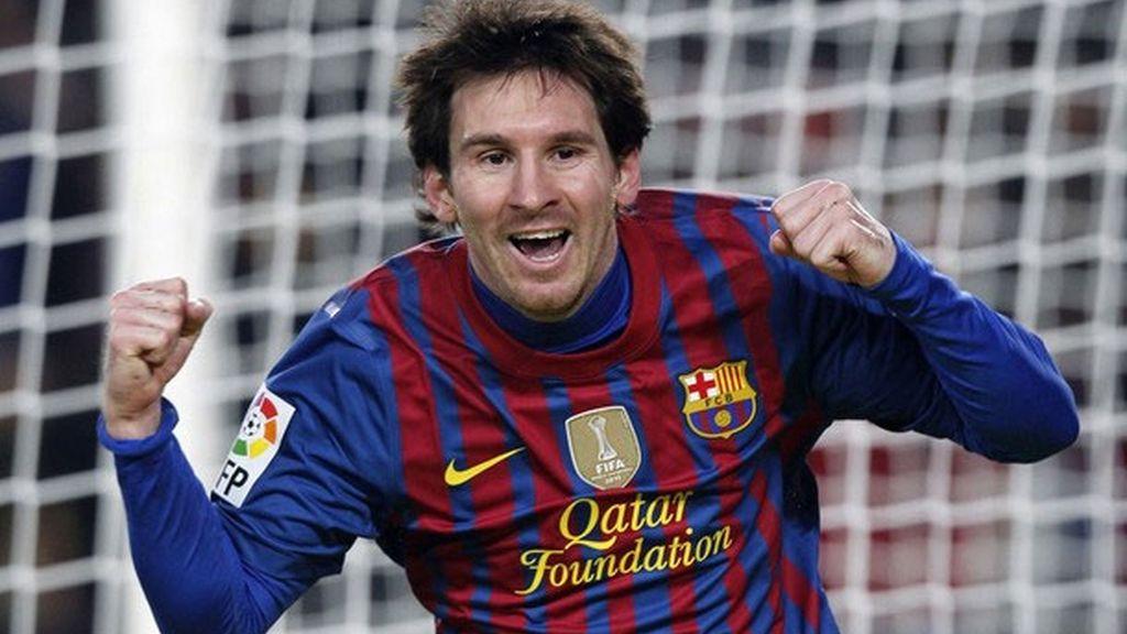 Messi logra un triplete ante el Valencia