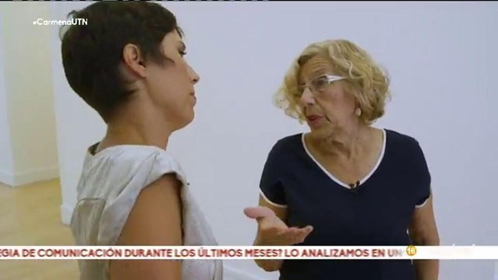 """Manuela Carmena: """"Lo que dijo Aguirre en un discurso no es lo mismo que me dijo a mí"""""""