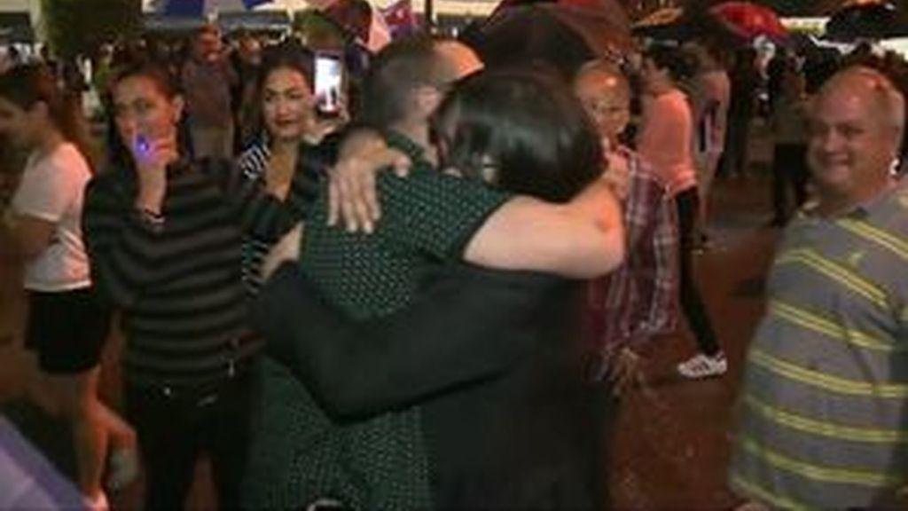 La comunidad cubana celebra la muerte de Castro en Miami