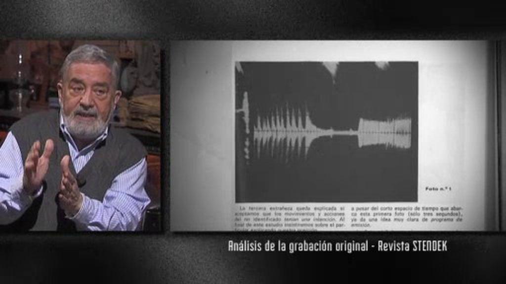 Así suena un ovni: Un fragmento de lo que grabó Javier Bosque ante la aparición