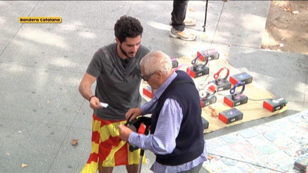 El pensionista que no entiende de banderas y sí de solidaridad desinteresada
