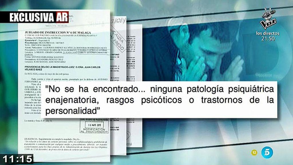 'AR' tiene acceso en exclusiva al informe forense del asesino de un menor en Málaga