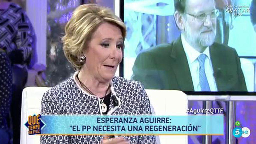 """Aguirre: """"Con la puerta del Sol tomada por aquellos del 15M, nosotros vencimos"""""""