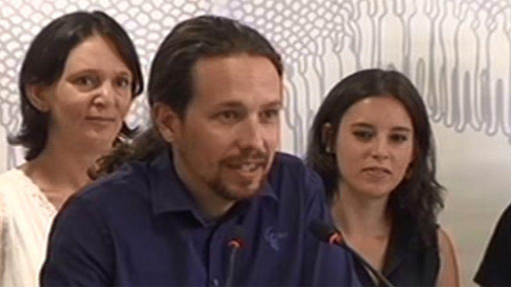 """Pablo Iglesias: """"He pasado las vacaciones leyendo y viendo películas"""""""