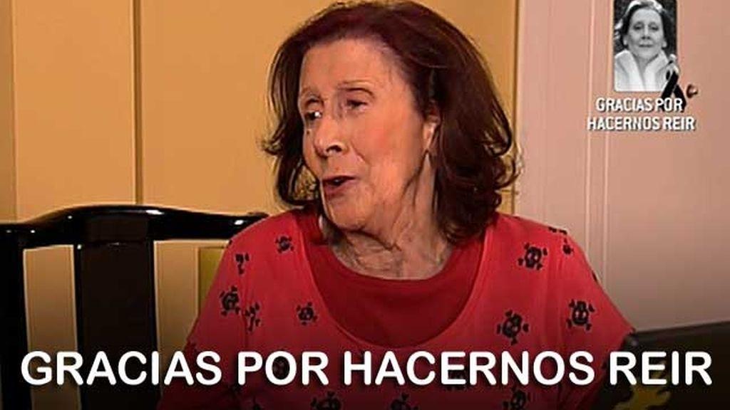 Mariví Bilbao fallece a los 83 años en su casa