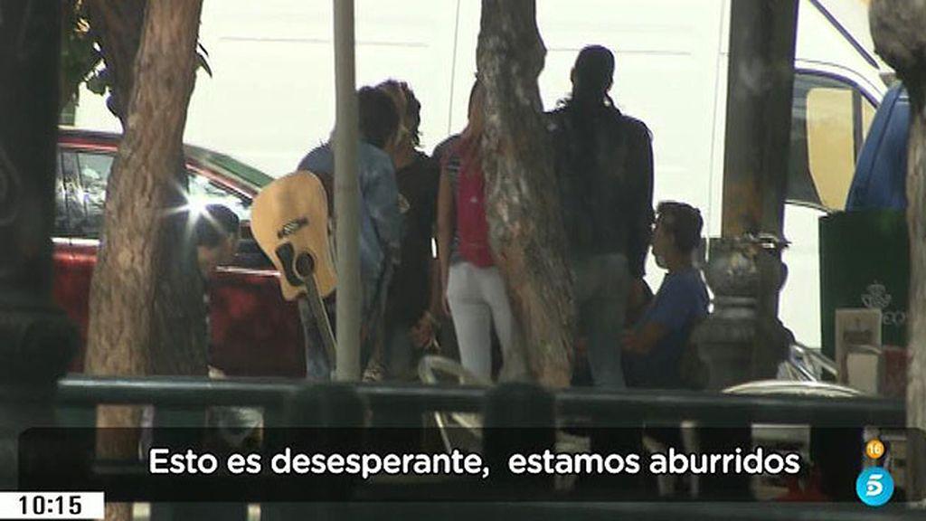 Los 'okupas' imponen su ley en Ciudad Lineal